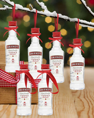 Image: PRE-ORDER Merry Baubles - Smirnoff Vodka Miniature Set