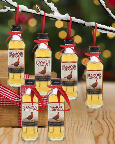 Image: PRE-ORDER Merry Baubles - The Famous Grouse Whisky Miniature Set