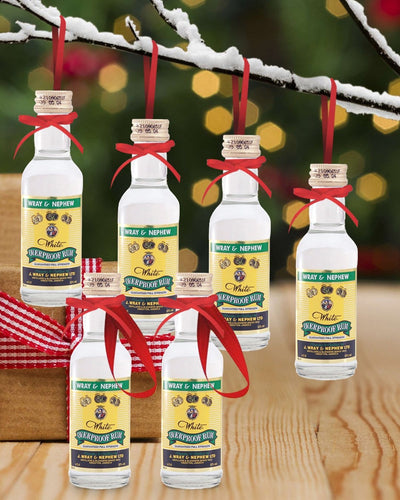 Image: PRE-ORDER Merry Baubles - Wray & Nephew Rum Miniature Set