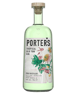 Image: Porter's Tropical Old Tom Gin, 70 cl