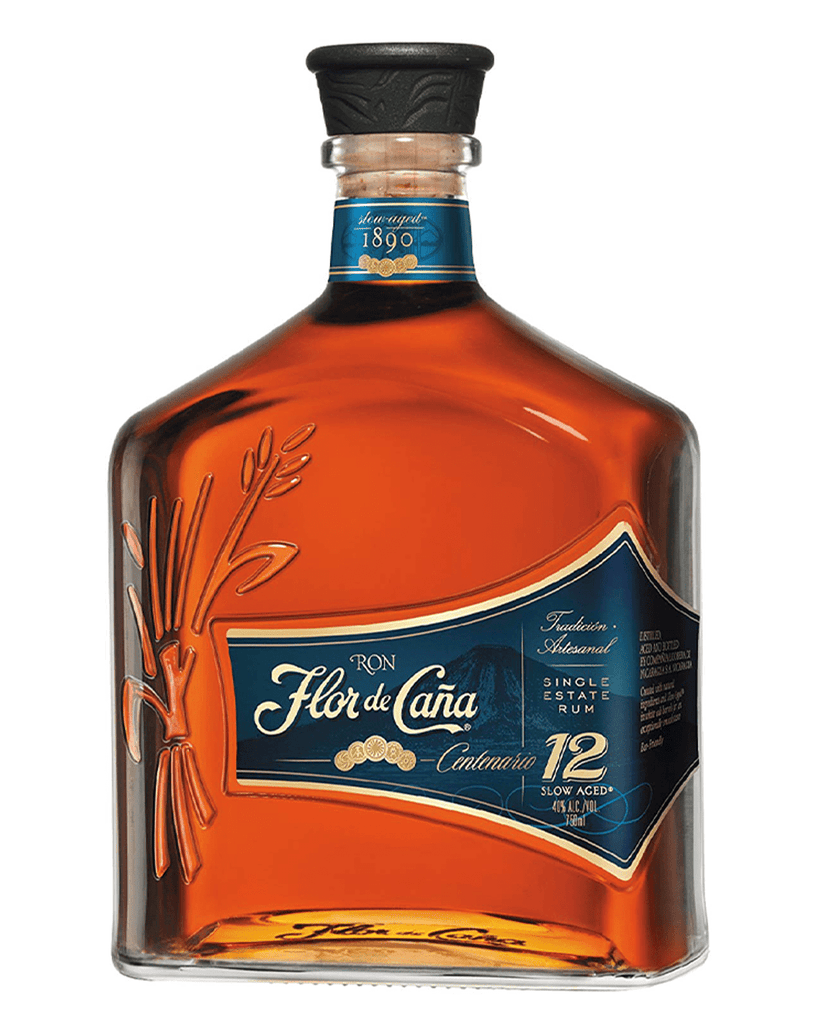 Flor de Cana 12 Year Old Rum, 70 cl