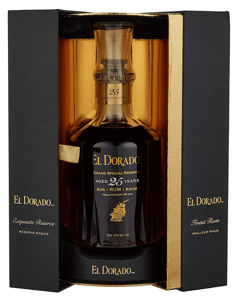 El Dorado 25 Year Old Demerara Rum, 70cl