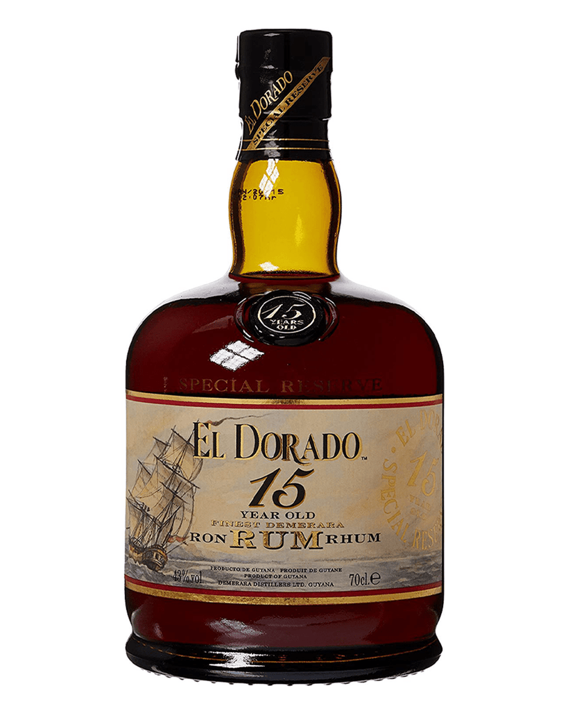 El Dorado 15 Year Old Rum, 70 cl