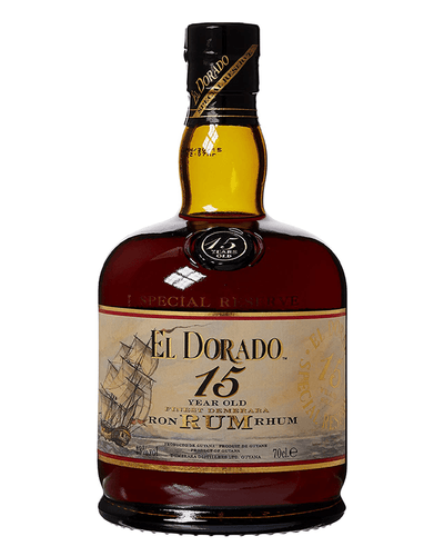 Image: El Dorado 15 Year Old Rum, 70 cl