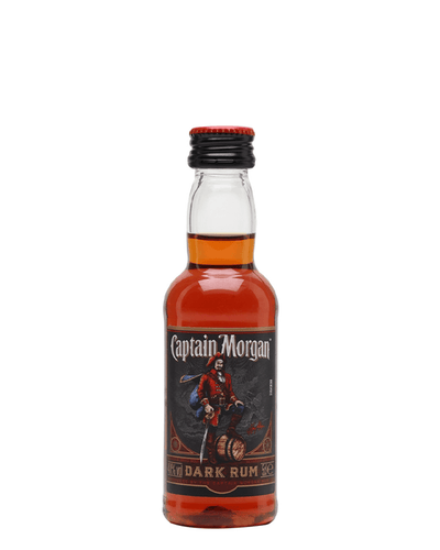 Image: Captain Morgan Dark Rum Miniature, 5 cl