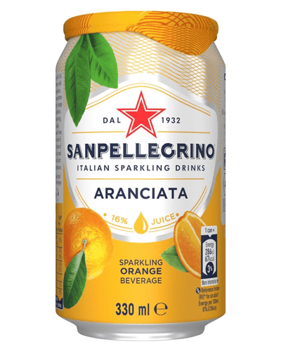 Image: San Pellegrino Orange Sparkling Water Multipack, 24 x 330 ml