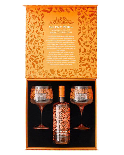 Image: Silent Pool Rare Citrus Gin Gift Set, 70 cl