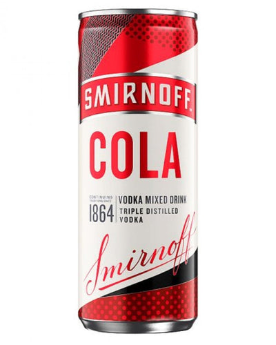Image: Smirnoff & Cola Can, 1 x 250 ml