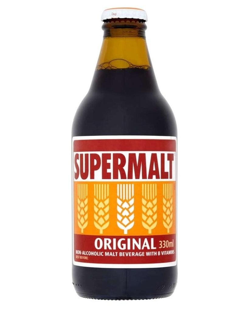Supermalt Original Malt Beverage, 6 x 330 ml