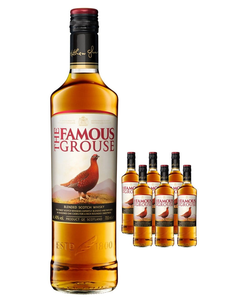 The Famous Grouse Whisky (Case of 6 x 70 cl Bottles)