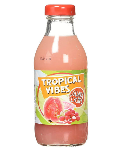 Image: Tropical Vibes Guava & Lychee Drink Multipack, 15 x 300 ml