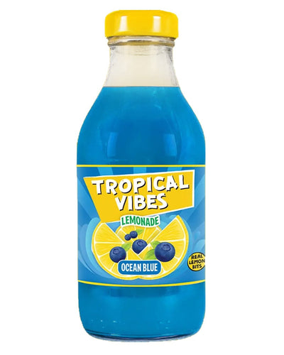 Image: Tropical Vibes Lemonade Ocean Blue Multipack, 15 x 300 ml