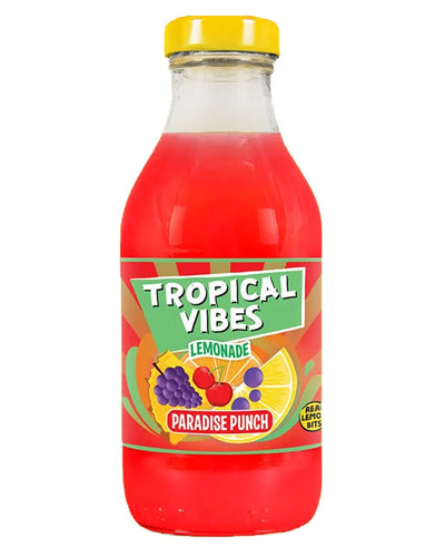 Image: Tropical Vibes Lemonade Paradise Punch Multipack, 15 x 300 ml