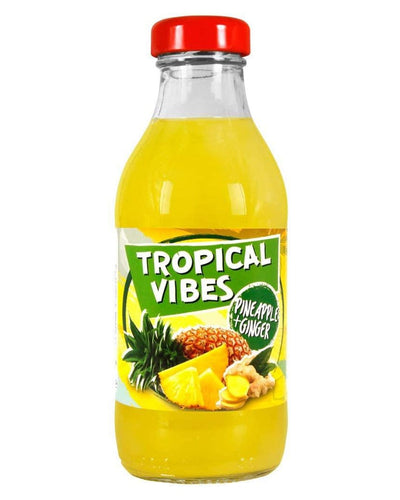 Image: Tropical Vibes Pineapple & Ginger Drink Multipack, 15 x 300 ml