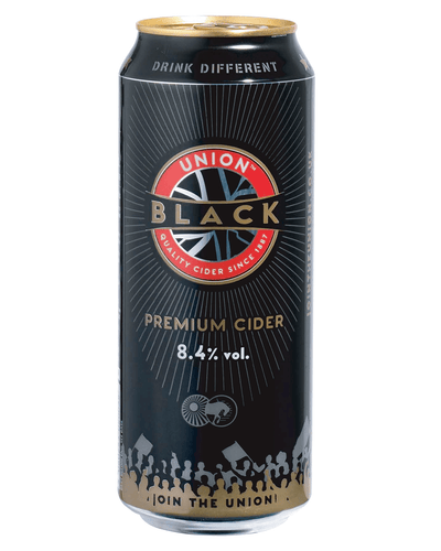 Image: Union Black Cider Cans Multipack, 24 x 500 ml
