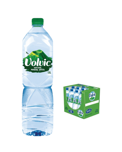 Image: Volvic Still Mineral Water Plastic Bottle Multipack, 12 x 1.5 L