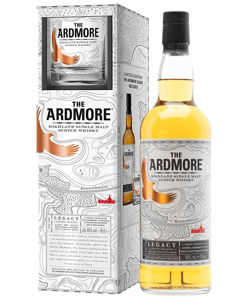 Shop The Ardmore Single Glass Gift Pack, 70 cl at The Bottle Club