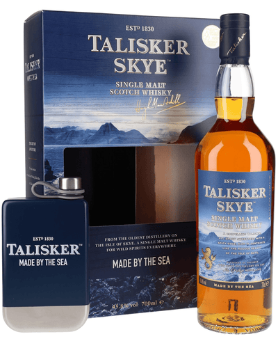 Image: Talisker Skye Hip Flask Pack, 70 cl