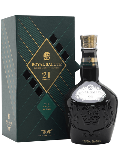 Image: Royal Salute 21 Year Old Emerald Wade Whisky, 70 cl