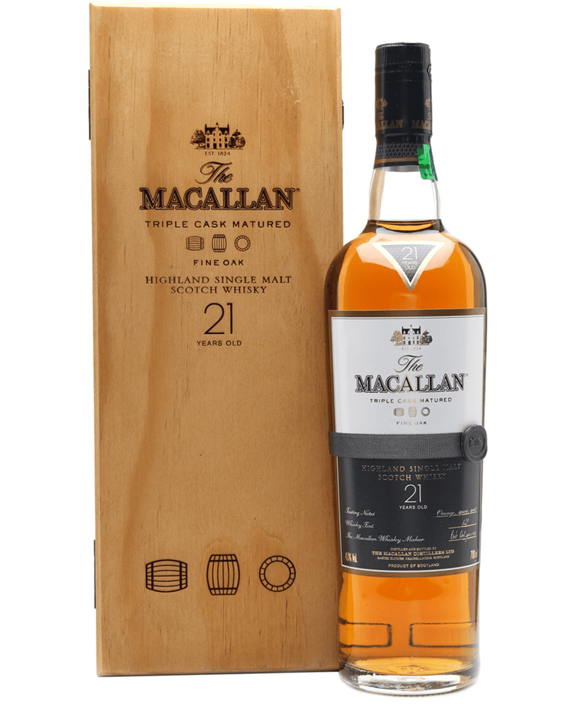 Macallan 21 Year Old Fine Oak, 70 cl