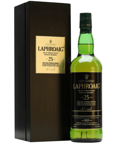 Image: Laphroaig 25 Year Old Malt Whisky Cask Strength Bot.2014, 70 cl