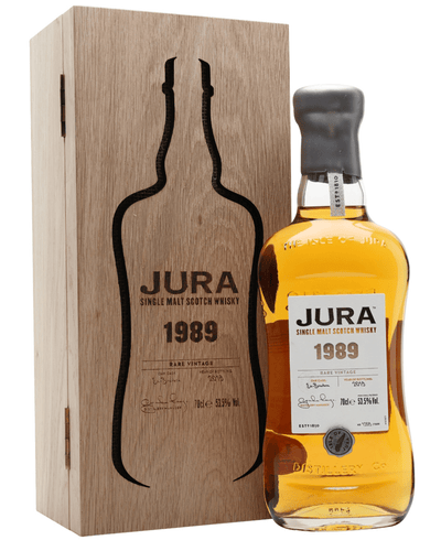Image: Jura Rare Vintage 1989 30 Year Old Single Malt Whisky, 70cl