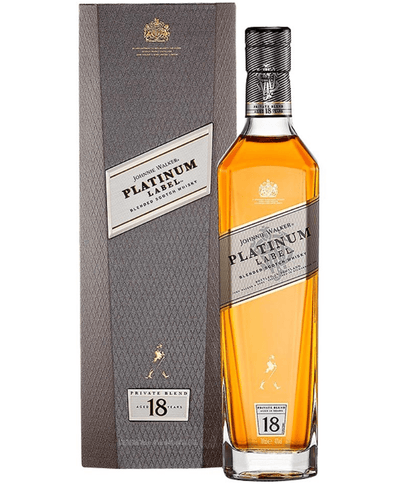 Shop Johnnie Walker Platinum Label 18 Year Old Whisky, 70 cl at The Bottle Club