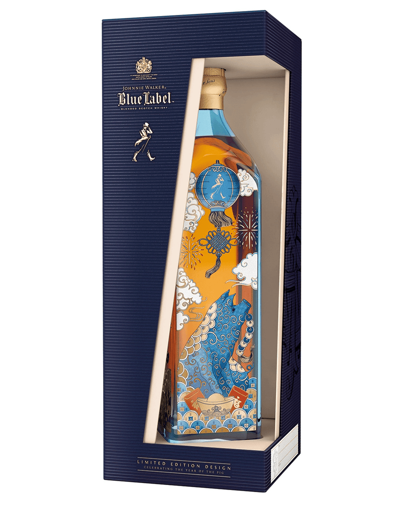 Johnnie Walker Blue Label Year of The Pig Edition, 70 cl