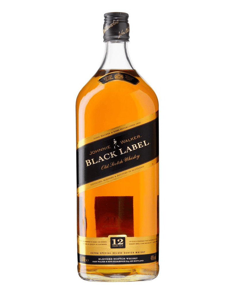Johnnie Walker Black Label Whisky, 1.5 L