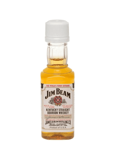 Image: Jim Beam Bourbon Miniature, 5 cl