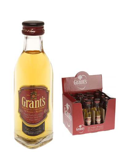 Image: Grants Family Reserve Blended Whisky, 12 x 5cl Miniature pack