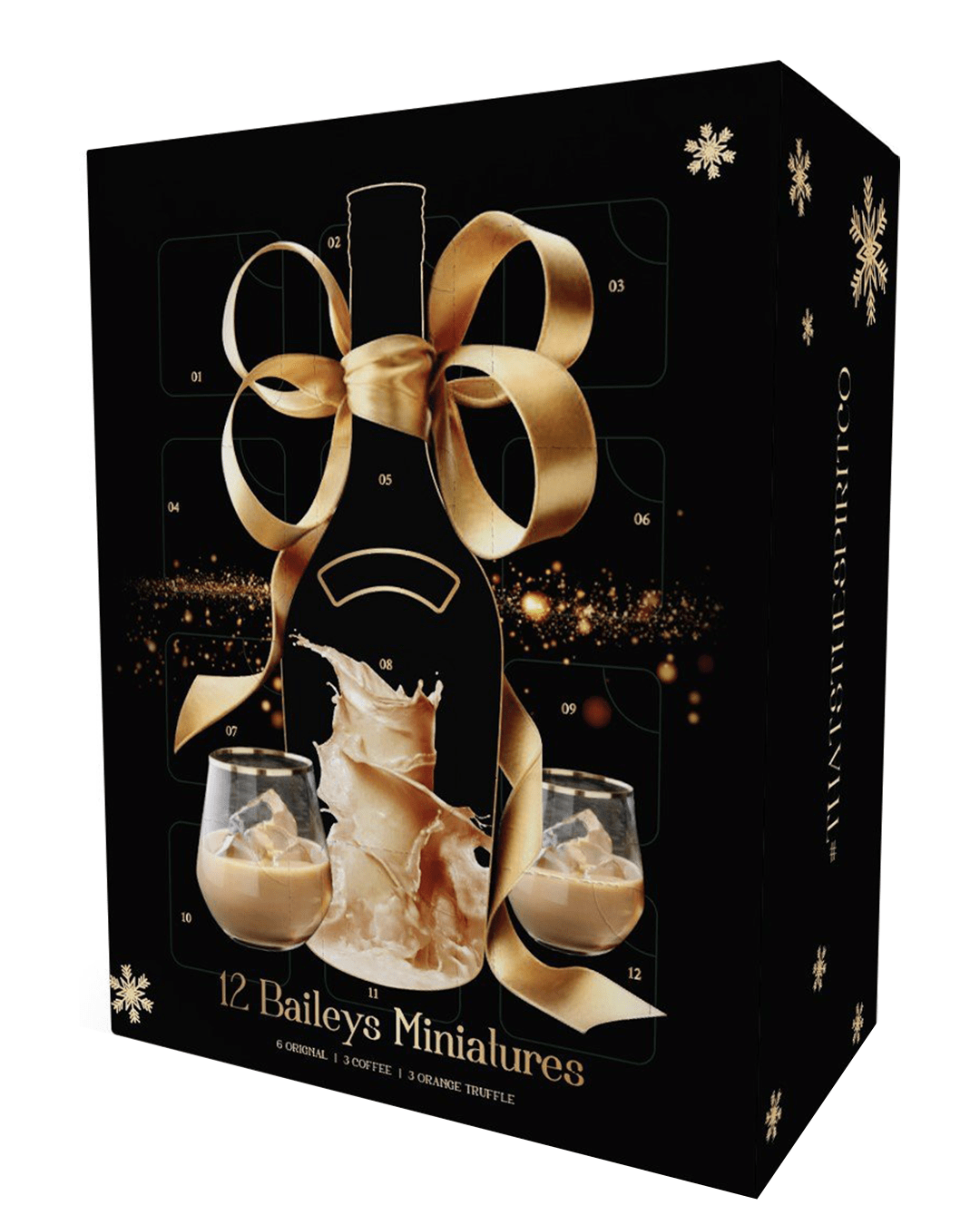 The Irish Cream Liqueur Advent Calendar, 12 x 5 cl
