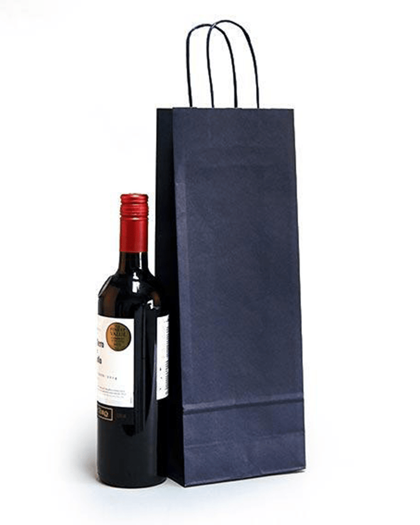 Luxury Blue Bottle Gift Bag