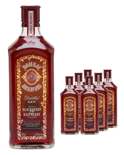Image: Bombay Bramble Gin (Case of 6 x 70 cl Bottles)