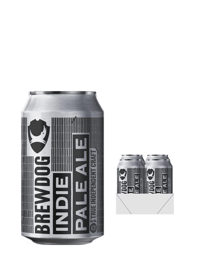 Image: BrewDog Indie Beer Can Multipack, 4 x 330 ml