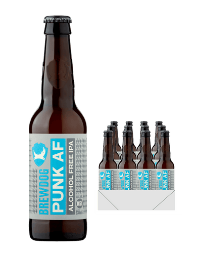 Image: BrewDog Punk AF Beer Bottle Multipack, 12 x 330ml