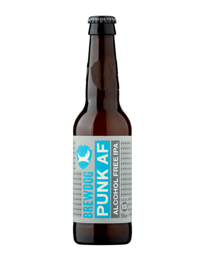 Image: BrewDog Punk AF Beer Bottle, 330ml