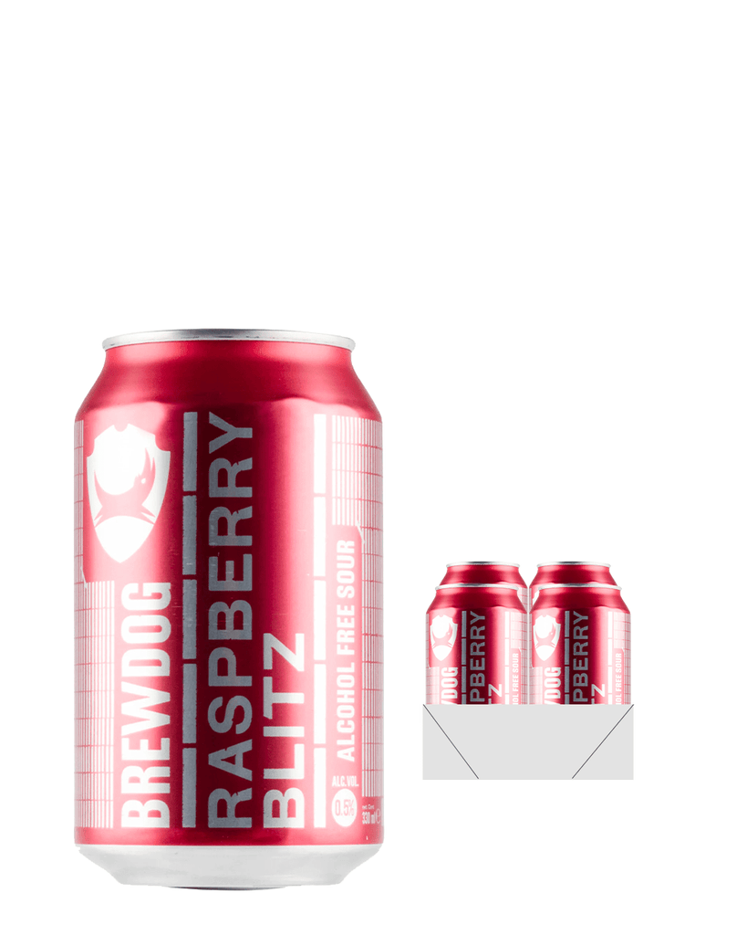 BrewDog Raspberry Blitz Can Multipack, 4 x 330ml