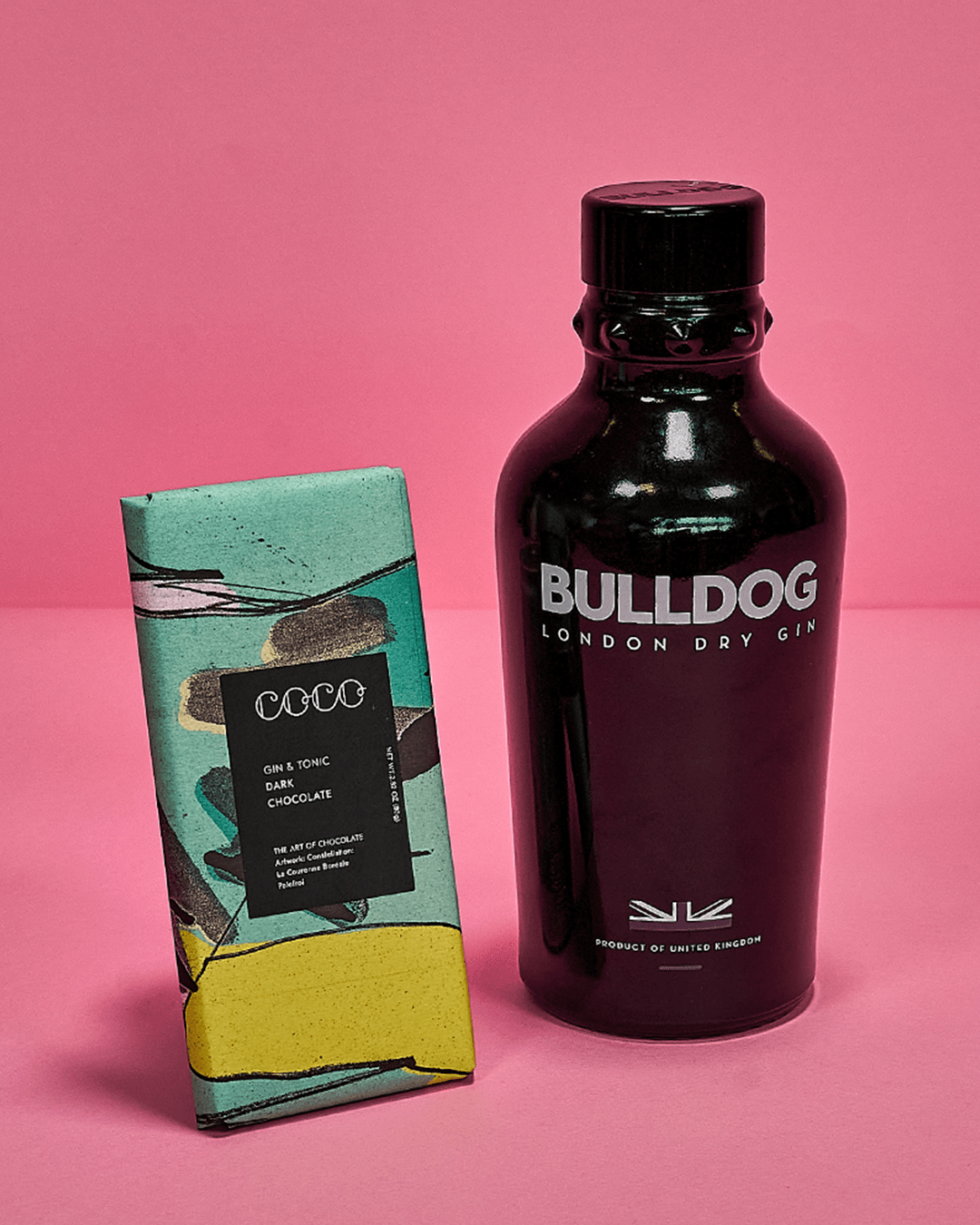 Bulldog Gin x COCO Gin & Tonic Chocolate Bar