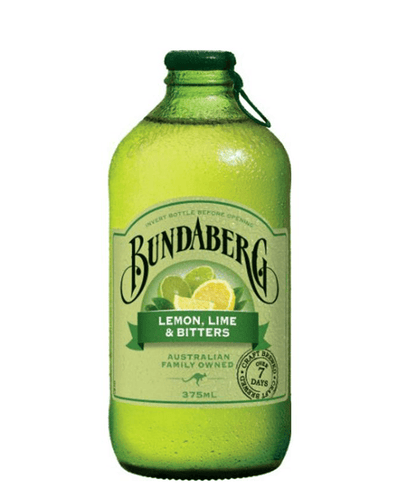Image: Bundaberg Lemon, Lime & Bitters, 375 ml