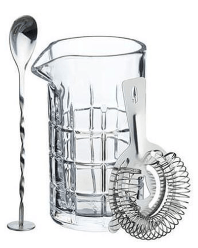 Image: BarCraft Cocktail Mixing Glass And Strainer Set