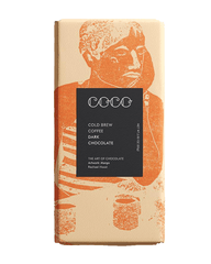 COCO Cold Brew Coffee Chocolate Bar, 80g