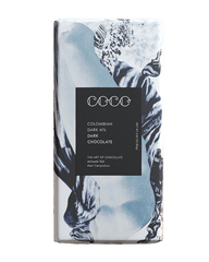 COCO Colombian Dark Chocolate Bar, 80g