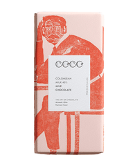 COCO Colombian Milk Chocolate Bar, 80g