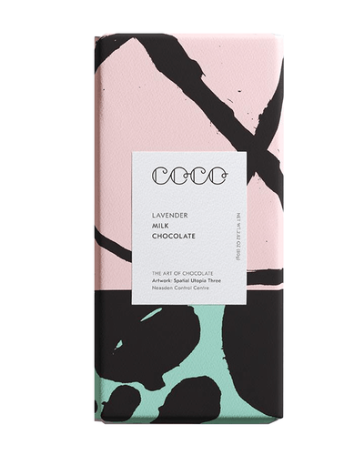 Image: COCO Lavendar Chocolate Bar, 80g