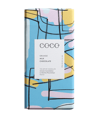 COCO Orange Chocolate Bar, 80g