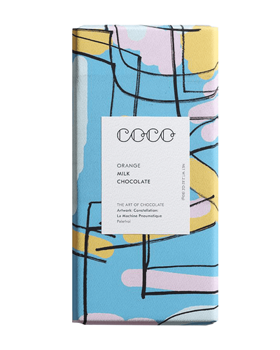 Image: COCO Orange Chocolate Bar, 80g