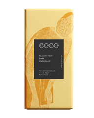 COCO Passion Fruit Chocolate Bar, 80g