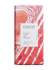 COCO Rhubarb & Ginger Chocolate Bar, 80g