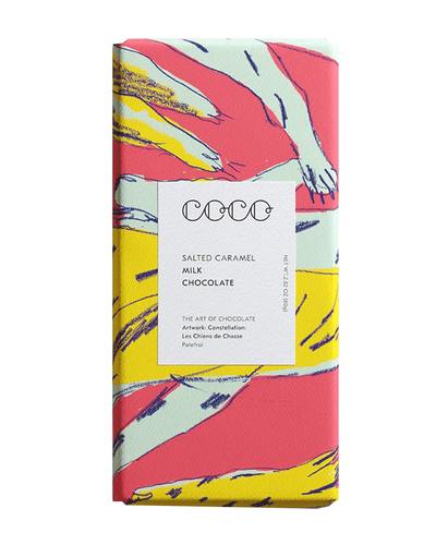 Image: COCO Salted Caramel Chocolate Bar, 80g